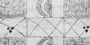 Tongan Barkcloth & Figure